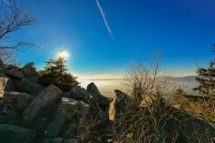 Felsen im Fichtelgebirge auf der Kösseine